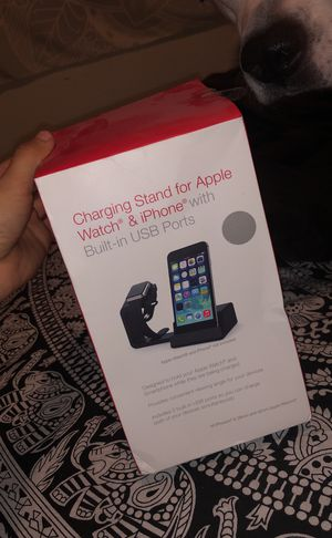 Charging stand for Apple Watch and iPhone for Sale in Reedley, CA