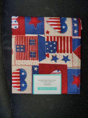 Patriotic cotton fabric for Sale in Dixon, MO