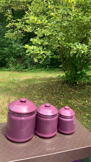 Ceramic Jar Set for Sale in Rexford, NY