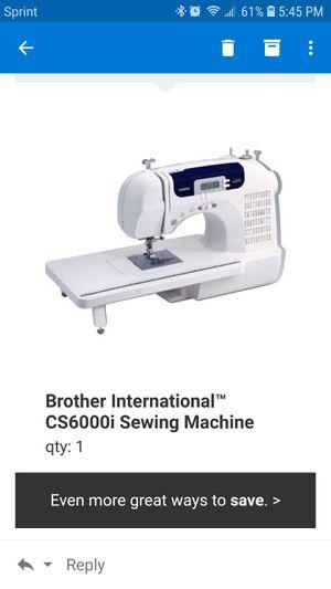 Sewing Machine New for Sale in Chesapeake, VA