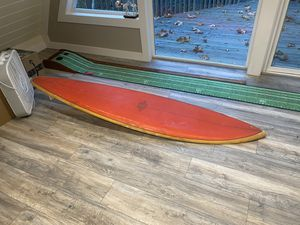 Vintage Wilken surfboard 50's - 60's era for Sale in Vancouver, WA