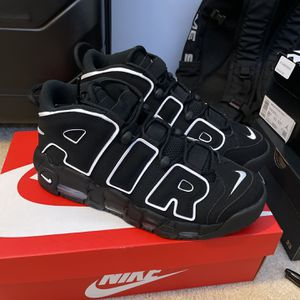 Nike Air More Uptempo Black/White 2020 for Sale in Rockville, MD