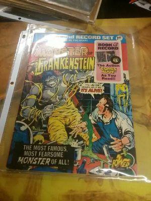 frankenstein comic book with read along record for Sale in Atlanta, GA