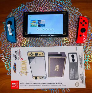 Nintendo switch with accessories for Sale in WY, US
