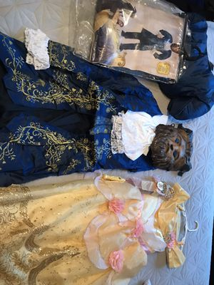 Beauty and the beast costumes for Sale in Scottsdale, AZ
