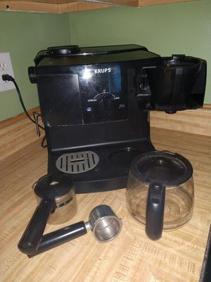 KRUPS XP1500 Coffee Maker and Espresso Machine Combination for Sale in Frederick, MD