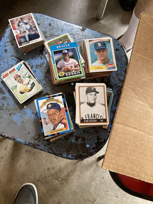 Box of different baseball cards $15.00 for Sale in La Puente, CA