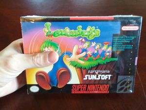 lemmings super Nintendo sealed for Sale in North Royalton, OH