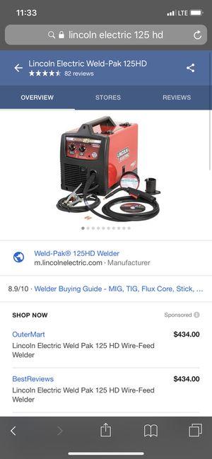 Lincoln welder 125hd . .... good shape for Sale in Gretna, LA
