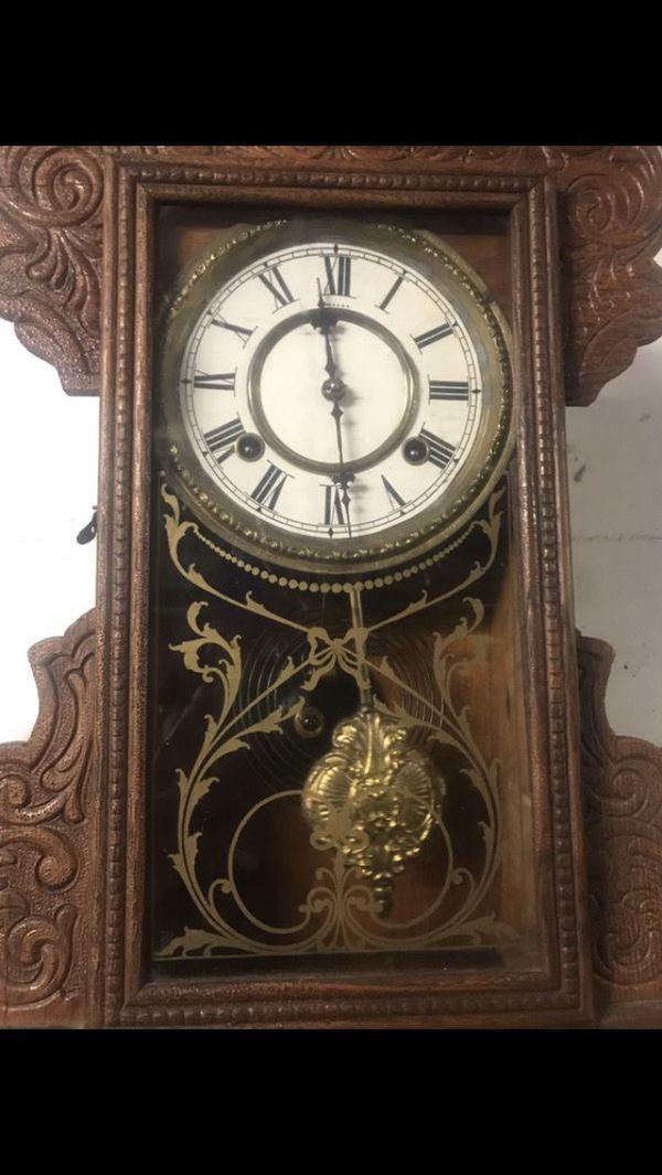 Antique Waterbury clock from 1880 working good $175 OBO.