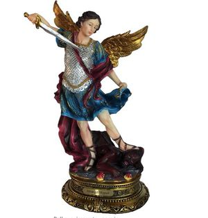 New 13 inch St Michael, St Gabriel, and St Raphael Archangels Statues Figurines for Sale in West Covina, CA