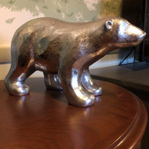 Silver Decor Bear for Sale in Vienna, VA
