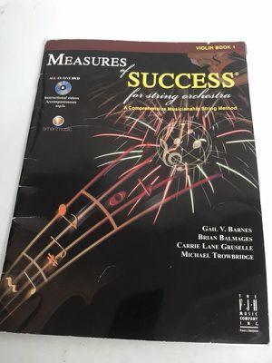 Measures of Success musical book for Sale in Montclair, VA