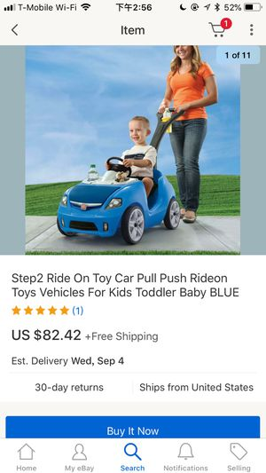 Step2 Ride On Toy Car Pull Push Rideon Toys Vehicles For Kids Toddler Baby BLUE for Sale in Virginia Beach, VA