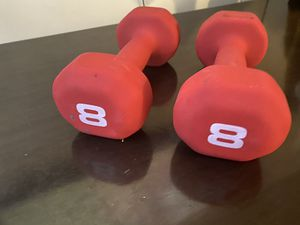 Barbell Neoprene Dumbbell- Double 8lb for Sale in Dublin, OH