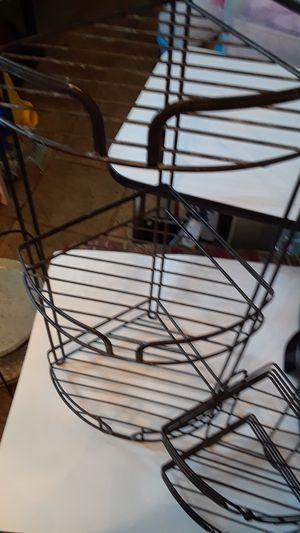 2 corner metal shelves for Sale in Ocoee, FL
