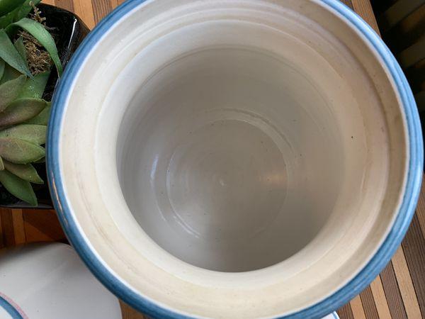 Vintage Tosch Ceramic Kitchen Jars