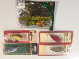 New fishing lures and plastic frogs #4 package for Sale in Silver Spring, MD