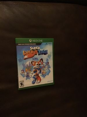 Super lucky's tale. Xbox 1 for Sale in Washington, PA