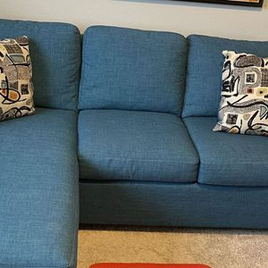 Sofa Chaise / Sectional / Queen Sleeper for Sale in North Plains, OR