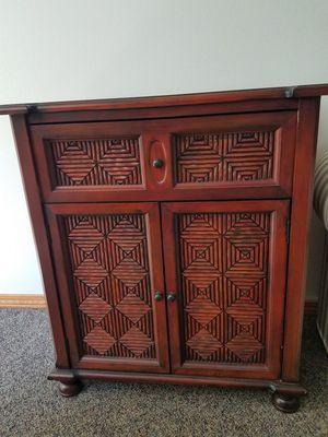 Pier 1 wood cabinet for Sale in Leavenworth, WA
