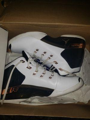 Jordan 17 white/black/copper for Sale in Queens, NY