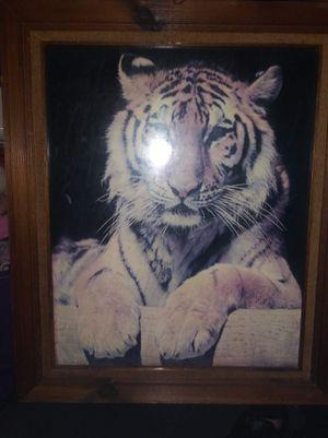 Framed Tiger Picture for Sale in Portsmouth, VA