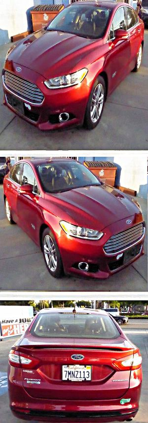 2016 Ford Fusion Energi Titanium 111k for Sale in South Gate, CA