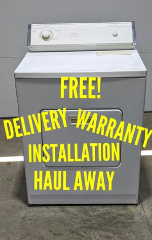 FREE DELIVERY/INSTALLATION/WARRANTY/HAIL AWAY - Whirlpool Electric Dryer for Sale in Hilliard, OH