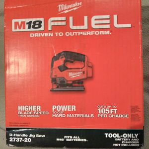 Milwaukee M12 FUEL D-handle Jig Saw for Sale in Portland, OR