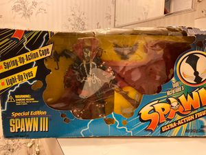 Todd mcfarlane Spawn ultra action figure special edition spawn 3 RARE 1996 for Sale in Spring Hill, FL