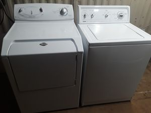 Set washer and electric dryer king size $250 for Sale in Dallas, TX