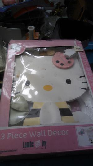 Hello kitty decor for Sale in Pittsburgh, PA