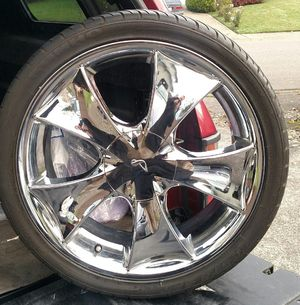 19 inch RIMS AND NEW TIRES for Sale in Bothell, WA