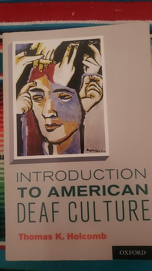 Introduction to American deaf culture for Sale in Cudahy, CA
