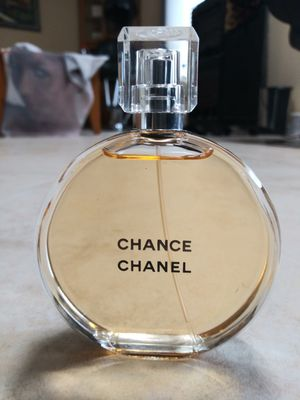 Chanel Chance EDT Brand New Womens Perfume Authentic no box for Sale in West Palm Beach, FL