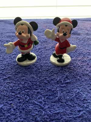 Vintage Christmas Mickey and Minnie for Sale in Spring Branch, TX