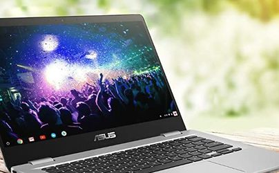NEW 2021 ASUS LAPTOP CHROMEBOOK HDMi WEBCAM ZOOM HD 128GB SSD 4GB RAM for Sale in Fresno,  CA