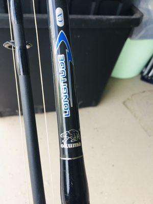 Fishing rod. 10feet. + reel 9000 for Sale in Vallejo, CA