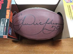 Signed Eric Dickerson Football $124.99 for Sale in Upland, CA