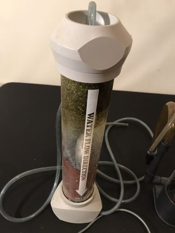 Protein skimmer and other filtration for fish tanks