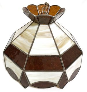 Hanging Tiffany Stained Glass Lamp for Sale in Crofton, MD