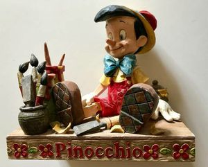 "Jim Shore Disney Traditions ""Carved From The Heart"" Pinocchio Figurine - for Sale in Vancouver, WA"