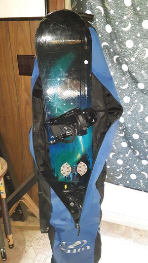 "148"" LTD Snowboard Burton Bindings and Bag for Sale in Mount Vernon, WA"