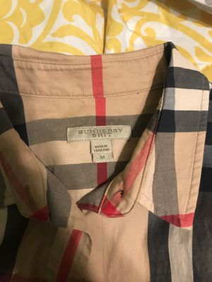 Burberry button down and collared shirt for Sale in Phoenix, AZ