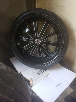 20 inch rims n tires for Sale in Groveport, OH
