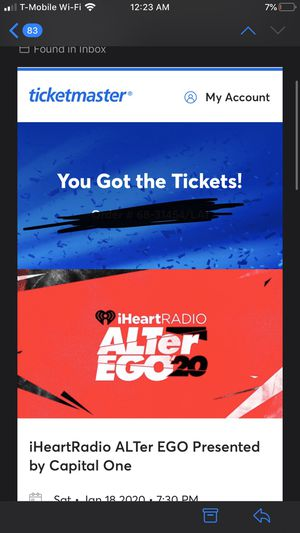 AlterEgo 2020 tickets for Sale in Anaheim, CA