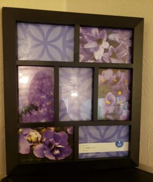 New 7 Pic Photo Frame for Sale in Irving, TX