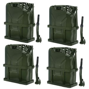 Jerry Can 5 Gallon 20L Gas Gasoline Fuel Army Backup Metal Steel Tank Holder for Sale in Wildomar, CA