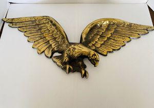 Vintage Brass Eagles for Sale in Claude, TX